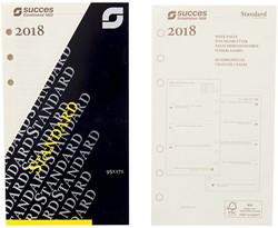 Agenda calendarium 2019 Succes Standard 7d/2 pagina's cremekleurig in cellofaan XTQ7C.19 (900132).