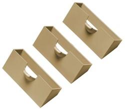 Planbord kaarthouder Atlanta A5545-23 beige voor kaartjes 77mm 3 stuks.