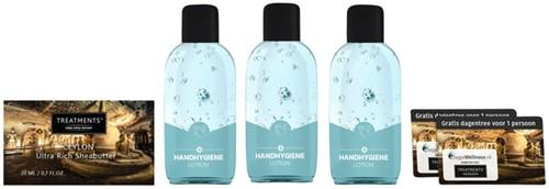 Lotion handhygiene Treatmens - alcohol 70% 150ml set a 3 stuks.