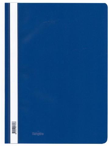 Snelhechter Kangaro kunststof A4 donkerblauw.