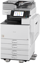 All-in-one kleurencopier Ricoh MP C3002.