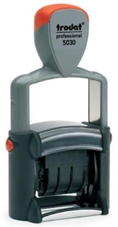 Datumstempel Trodat 5030 zelfinktend afdrukhoogte 4mm.