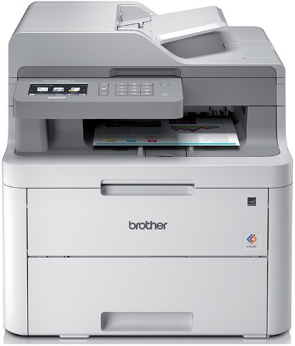 All-in-one kleurenlaserprinter Brother DCP-L3550CDW.