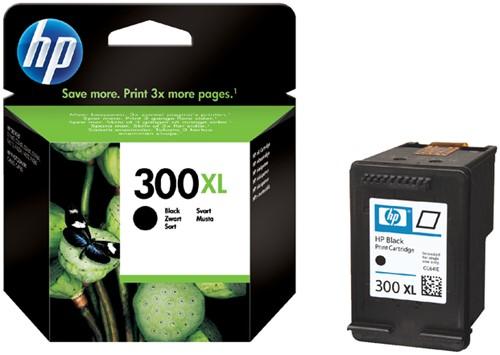 Inktcartridge HP CC641EE 300XL zwart HC.