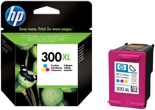 Inktcartridge HP CC644E 300XL kleur HC.