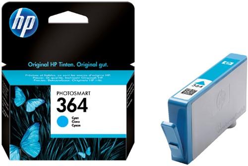 Inktcartridge HP CB318EE 364 blauw.