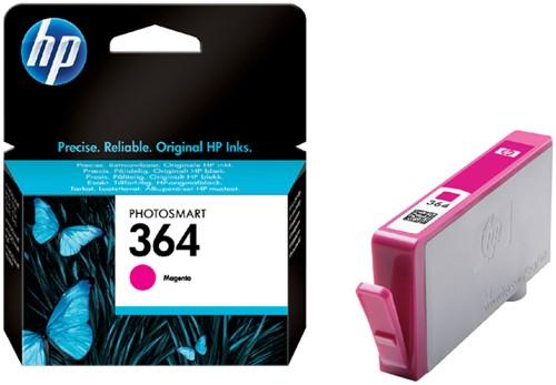 Inktcartridge HP CB319EE 364 magenta.