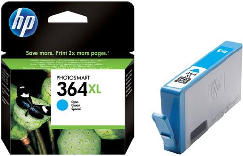 Inktcartridge HP CB323EE 364XL blauw HC.