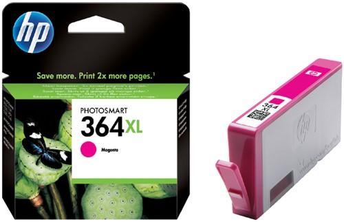 Inktcartridge HP CB324EE 364XL magenta HC.