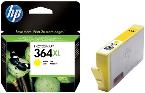 Inktcartridge HP CB325EE 364XL geel HC.