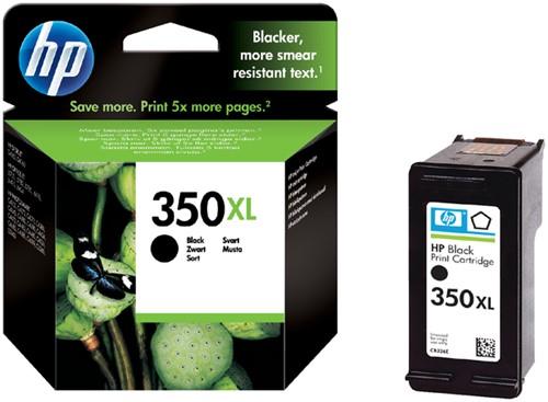 Inktcartridge HP CB336EE 350XL zwart HC.