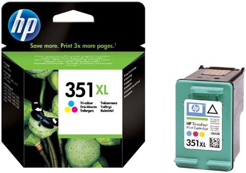 Inktcartridge HP CB338EE 351XL kleur HC.