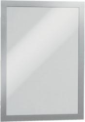 Duraframe Durable 487223 A4 zilvergrijs zak a 2 stuks.