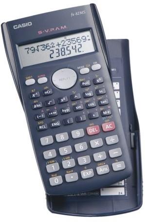 Rekenmachine Casio FX-82MS.