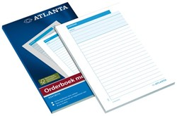 Orderboek Atlanta A5414-013 185x110mm 50x2 vel.