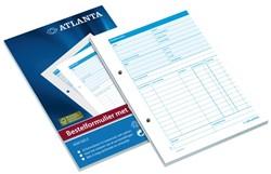 Bestelformulier Atlanta A5415-051 A5 50X2 vel zelfkopierend.