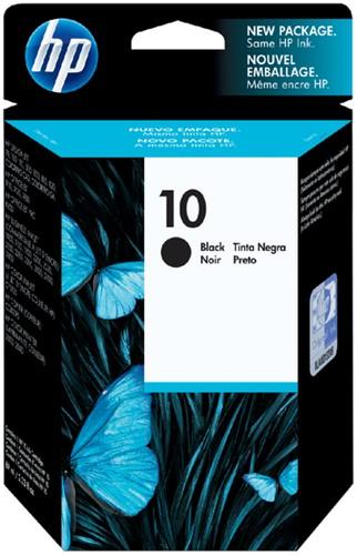 Inktcartridge HP C4844AE 10 zwart.
