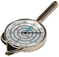 Curvimeter 302 met steel en teller.