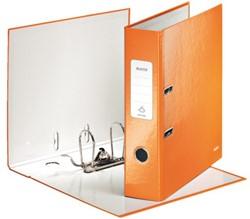 Ordner Leitz WOW A4 1005 80mm karton oranje.