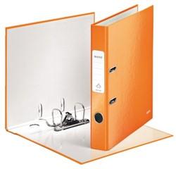 Ordner Leitz WOW A4 1006 50mm karton oranje.