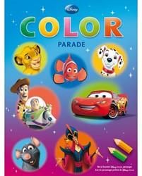 Kleurboek Deltas color parade disney filmfiguren