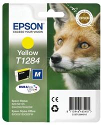 Inktcartridge Epson T128440 geel.