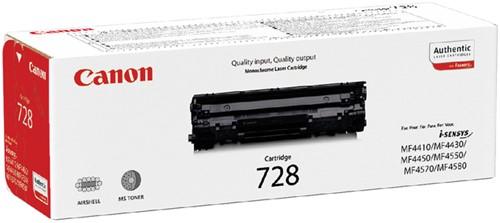 Toner Canon 728 zwart.