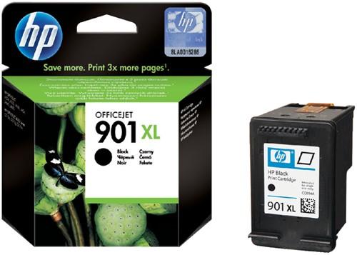 Inktcartridge HP CC654A 901XL zwart HC.