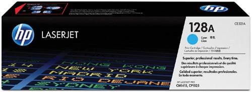 Toner HP CE321A 128A blauw.