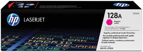 Toner HP CE323A 128A magenta.