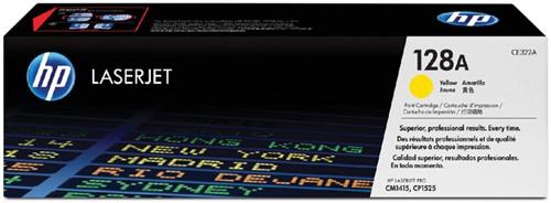 Toner HP CE322A 128A geel.