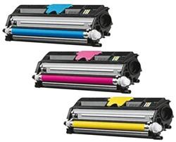 Toner Minolta MC1600 3-kleurenset.