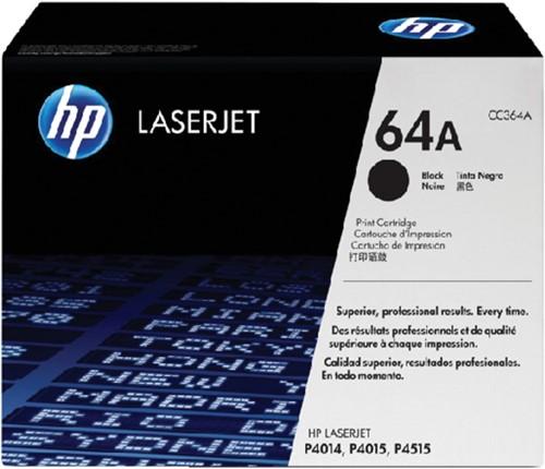 Toner HP CC364A 64A zwart.