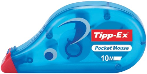 Correctieroller Tipp-ex Pocket Mouse 4.2mmx10m.