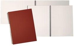 Tabellarisch kasboek Atlanta 2121121200 312x226mm 108 bladzijden 2x4 kolommen.