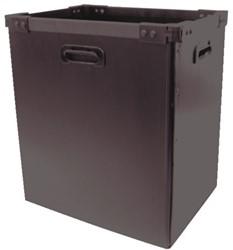 Opvangbak 33 liter voor Rexel papiervernietigers model RDSN750, RDM1150, RDX1850 en RDS2250.