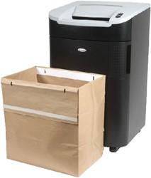 Opvangzakken recyclebaar 26 liter voor Rexel papiervernietiger Auto+ 100X - verpakt per 20 stuks.
