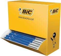 Balpen Bic M10 blauw medium 90+10 gratis.