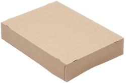 Paraatdoos CleverPack A4 305x218x55mm voor 500vel bruin. Verpakt per 10 stuks.