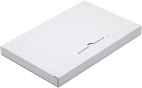 Brievenbusbox CleverPack A5 230x160x26mm karton wit 5 stuks.