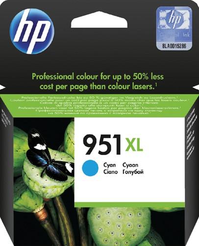 Inktcartridge HP CN046AE 951XL blauw HC.