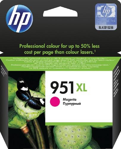 Inktcartridge HP CN047AE 951XL magenta HC.
