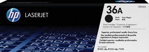 Toner HP CB436A 36A zwart.