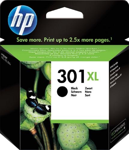Inktcartridge HP CH563EE 301XL zwart HC.