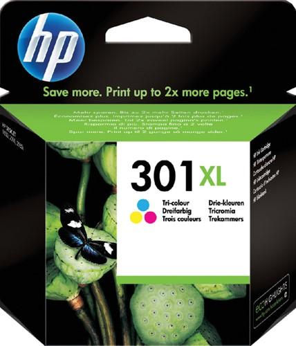 Inktcartridge HP CH564EE 301XL kleur HC.