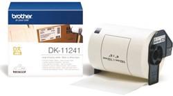 Etiket Brother DK-11241 102x152mm verzendlabel 200 stuks.