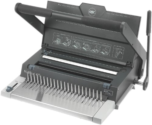 Inbindmachine GBC Multibind 420 21-gaats.