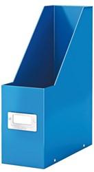 Tijdschriftcassette Leitz WOW click&store A4 blauw.