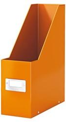 Tijdschriftcassette Leitz WOW Click en Store 95x310x245 oranje.