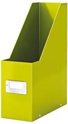 Tijdschriftcassette Leitz WOW Click & Store groen.